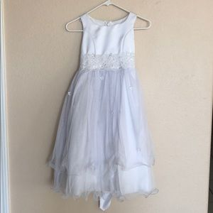 Other - Girls White First Communion Dress Size 7/8